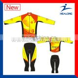 Sublimation Bicycle Shorts Cool Pass Compression Pants