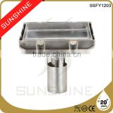 SSFY1203 Bathroom and toilet square stainless steel floor drain in concrete