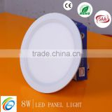 4w 8w 12w 16w 20w guide and diffusion plate led panel light SSP001-8W