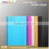 High capacity power bank Aluminium Alloy book shape power bank for Android phones and other smarphone