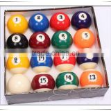 high quality custom logo billiard ball