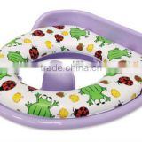 PM1818R Cushion Potty Seat with Plastic Backing & Detachable Splash Guard