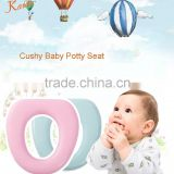 PM3381 2015 Karibu Factory Hotsell Soft Padded Antibecterial PVC Potty Seat Cover