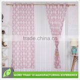 Shaoxing textile Luxury Window use print hotel blackout curtain