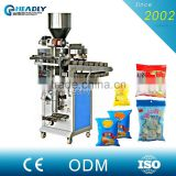 Semi - Automatic Food Nuts Dry Fruits / Walnut plastic Packing Machine