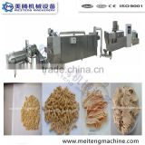 high yield soya meat making machine plant
