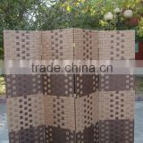 wholesale handmade weave paper screen room divider sliding door for liveing room