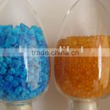 blue and orange silica Gel