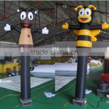 Customized inflatable flying bee shaped air dancer                                                                                                         Supplier's Choice