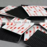 Widely used injection plastic hook and loop tape and fasteners with 3M gule