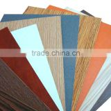 Factory super strong quality solid and woodgrain melamine mdf board, mdf board for home cabinets!