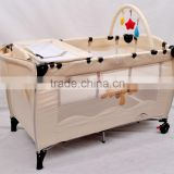 foldable baby play bed for baby travel cot