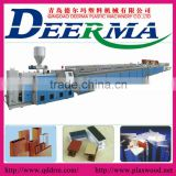 pvc foam profile production line,pvc wood plastic profile production linepvc/wood plastic profile extrusion line