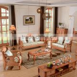 2015 High Quality Indoor 1+2+3 sofa with armrest Vintage Raw Rattan Cane Furniture for salon