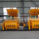 Dry mortar Plastic mortar Wet mortar concrete mixer JS500 with lower price and high quality