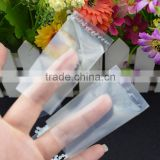 shenzhen china professional manufacturer small clear plastic bags / clear flat small poly bags