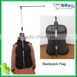 Outdoor Moving Advertising Backpack Flag