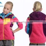 Wholsale New design apparel stocklot sleeveless polar fleece waistcoat for children