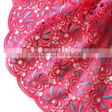 Best sale african cord lace fabric 2015 embroidery for evening dress