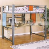 home use cheap adult loft bunk bed,loft bed with desk ,ladder for loft bed