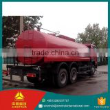 SINOTRUK HOWO water truck digital meters double layer steel plate 14cbm used water tank truck