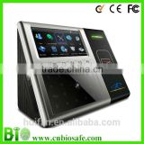 Touch Screen Wireless Time&Attendance and Access Control Face Reader RFID Card Reader HF-FR301 with Battery