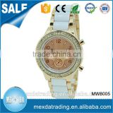 Charming ladies luxury elegant style japan movt quartz ceramic watch