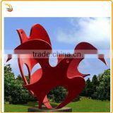 Stainless Steel Flying Dove Sculpture Metal Bird Statue For Garden Decor