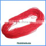 Wholesale 2mm Red PU Leather Cords For Jewelry Making 100 Metres/ Bundle PULC-C203