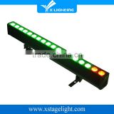 18*12w RGBW 4in1 indoor Pixel led light bar led wall washer light                                                                         Quality Choice