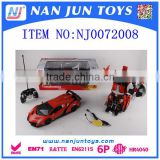 wholesale radio control car transform robot toy for kids                                                                         Quality Choice