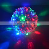 LED RGB Flowers Colorful Ball Fairy Light Flash Lamp Christmas Decoration