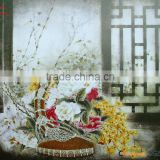 2013modern famous chinese art oil painting printed