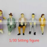 animate figure model resin kit woman sexy nude, model figure, human sitting figure model for 1/30