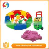 Pp full set 17PCS Beach Toy Set With 500g Space Sand toy car for girls