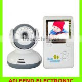 Digital LCD Baby Video Monitor Kits 2.4GHz Wireless Night Vision Radio Nanny 2 Way Intercom Talking Electronics Babysitter