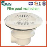Outdoor and indoor film pool accessories 2'' ABS main drain cover