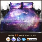 Fancy Shining Star and Purple Nebula Print 4-Piece Duvet Cover Sets/Galaxy Bedding on sale