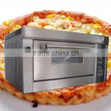 European-style Bread Pizza baking Oven with steam box/microcomputer control Electric bakery Oven with Ceramic Stone