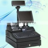 "12"" inch lcd POS terminal ( with printer, scanner, cash drawer together) hot sell retail POS !"