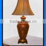 Factory supply antique brass table lamp hot sale