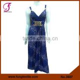 3607 Long Style Micoro Fiber Latest Dress Designs