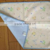 bamboo fiber and flannel ruine pad for baby