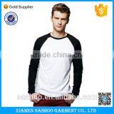 Custom Fashion Design Men's Blank Burnout Baseball Tee Raglan Sleeve T Shirts Top For Men Wholesale