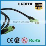 high speed yellow black/pink bulk 20cm hdmi 4.1 male to male cable 2.0 ethernet 15m use to multimedia