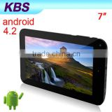 7 Inch Android 4.2 Portable Fashion Tablet Pc 512MB DDR3 4G Flash WIFI And Extra 3G