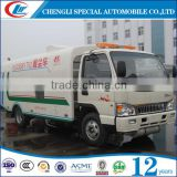 4x2 JAC sewage suction tank truck/Waste Disposal Truck /vacuum Sewage cleaner tank truck