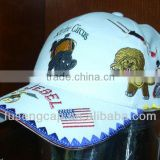 fashion top quality embroidery animal picture children/kid baseball caps