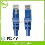 10 meters of finished copper CAT6 patch network cable lGigabit computer networks jumper cables