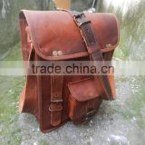 Genuine Leather Moroccan indian leather messenger bag